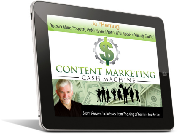 Jeff Herring Content Marketing Cash Machine