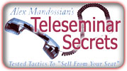 teleseminar secrets, alex mandossian, jeff herring, article marketing