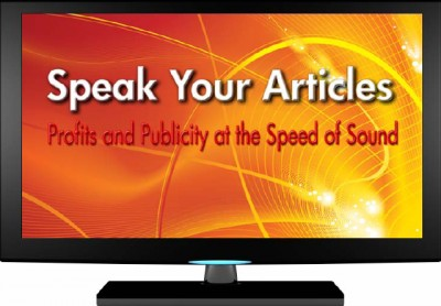 speak your articles, article marketing, article writing, jeff herring, maritza parra, ezinearticles, traffic building