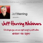 jeff herringwebinars, article marketing, jeff herring