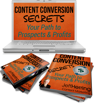 Jeff Herring Content Conversion Secrets