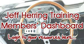 Jeff Herring Training Members' Dashboard