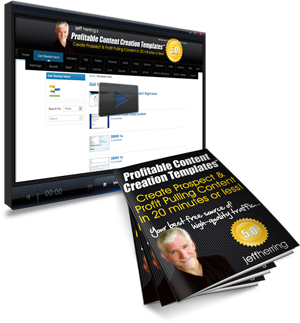Jeff Herring Profitable Content Creation Templates 5.0