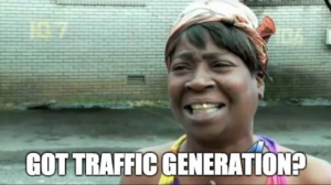 traffic generation, content creation, content marketing